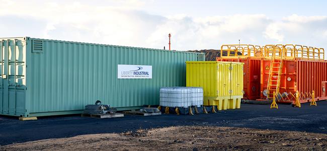 Liberty Industrial Chemically Enhanced Dual Media Water Treatment Plant at Port Kembla Gas Terminal