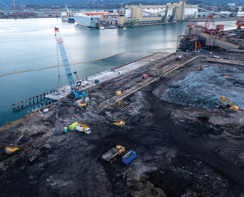 Liberty Industrial Port Kembla Gas Terminal Early Works Demolition