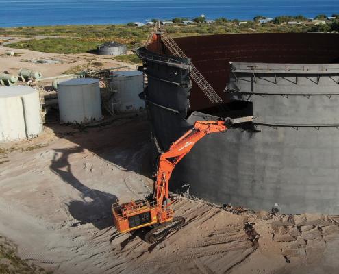 Chevron Thevenard Island Decommissioning Liberty Industrial